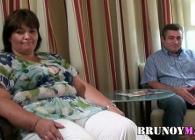 Matrimonio haciendo su primera escena para Bruno y Maria