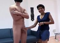 La señora de la limpieza se apunta a rodar una porno